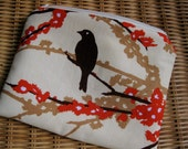 Joel Dewberry fabric – pouch cosmetic bag