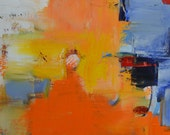 Original Abstract Painting, oil on canvas,, 2014, modern, contemporary, home decor