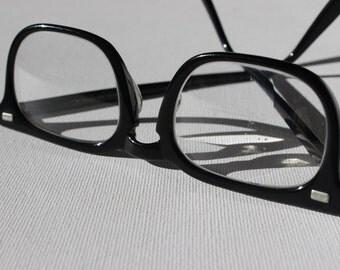 Vintage Wayfarer  Bifocal Glasses American Optical