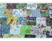 "I Spy Quilt, Lap Quilt, ""I Spy Animals"" Fun Animals quilt, 36""x40"", children's quilt, I Spy Game and Quilt, Made To Order"