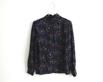 vintage PENDLETON paisley blouse. L