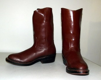 Western Rain Boots -  Cowboy boots in a womens size 6 M
