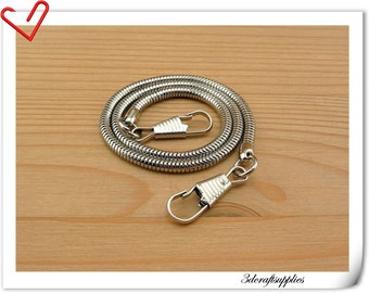 33cm nickel purse chain for attaching purse frame K86