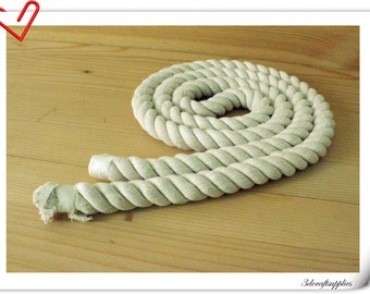 2 yard of 20 mm Twisted cotton rope for handbag handle making   L9