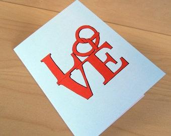 Pretzel Love - Philadelphia Card