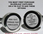 This is an Upgrade Only - add dates - change the text - add initials
