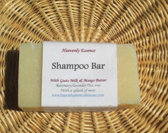 New batch ready Shampoo bar with Tea tree and Silk Proteins