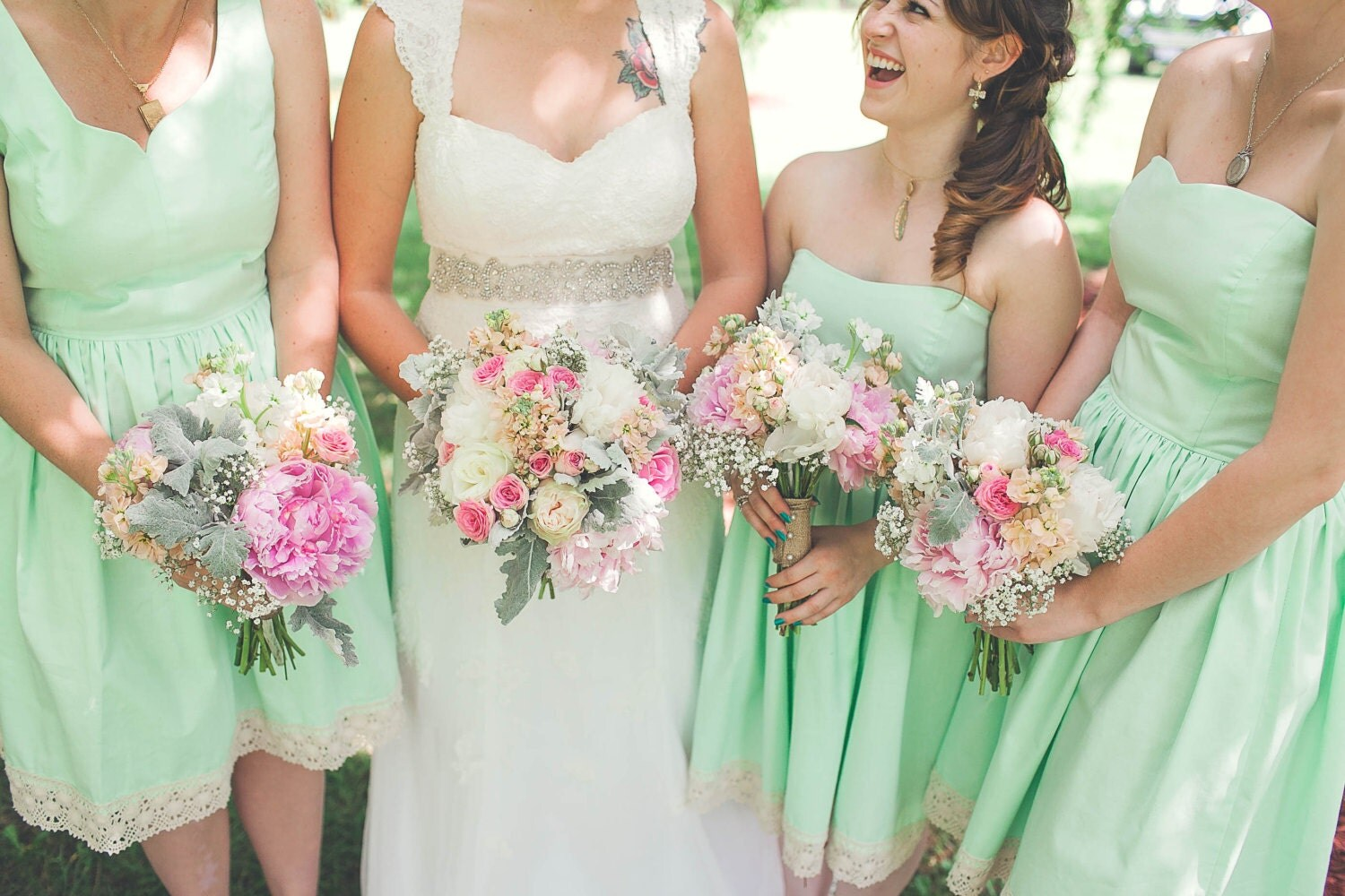 Mismatched Cotton Bridesmaid Dresses for Your Wedding / Mix and ...