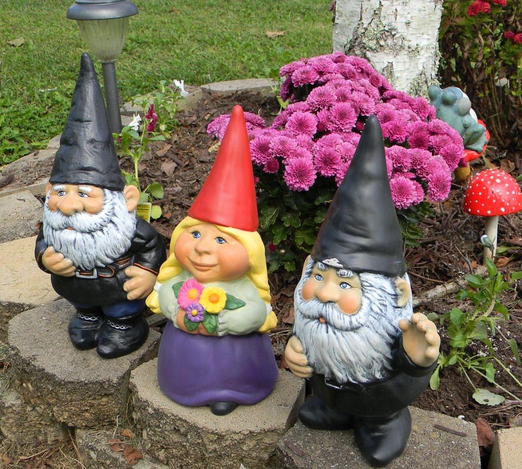 Female Garden Gnomes