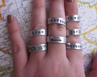 The Myrtle Ring - Custom Small Band Ring