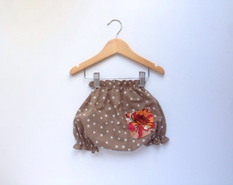 SALE Polka Dot Cotton Bloomers