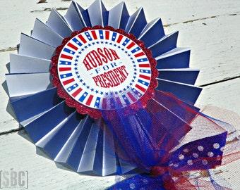 Presidential/Patriotic Pinwheels...Set of 1 Centerpiece Pinwheel