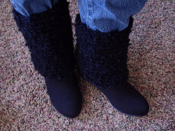 Beginner Crochet Boot Cuff Pattern : PATTERN: Boot Cuff crochet pattern beginner Long boot cover