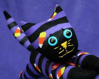 Plush Sock Cat, Sock Cat Creature, Cat Children Toy