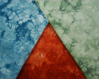Hand Dyed Cotton Fabric, Cotton Quilt Fabric, Cotton Quilting Material, Craft Fabric Zion