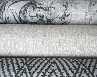 CO-ORDINATES -Both Sides-- Decorative Designer Cover -Charcoal - Ivory / Taupe  Latte  Throw / Lumbar Pillows