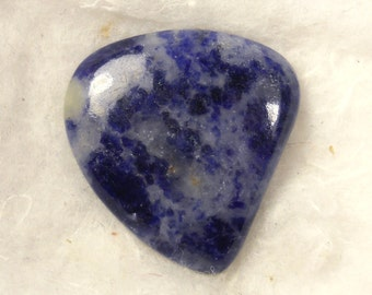 34.5 cts ... Sodalite Cabochon ... 29 X 28 X 6 mm