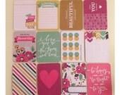 25 mini journaling cards