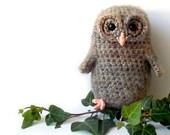 Bill The Owl Baby - Amigurumi Pattern
