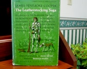James Fenimore Cooper, The Leatherstocking Saga, Modern Library Giant, 1966   Five novels