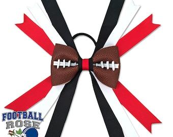 Football Hair Bow - Tampa Bay