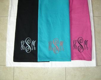 Monogrammed T- Shirt    Size SM - XL
