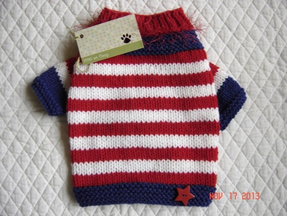 Dog Sweatshirt Sweater  - Medium   - All American Dog