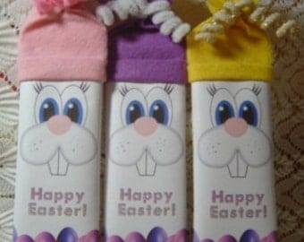 Easter Candy Wrappers, Easter Candy Character Bars, Easter Character Bars, Easter Wrappers, Candy Wrappers