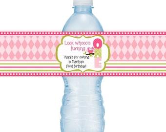 Pool Party Birthday Water bottle Labels, CUSTOM Printable Pool ...