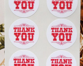 Stickers Thank You Envelope Seals Business Wedding Baby Shower Party Favor Treat Bag Sticker SP019