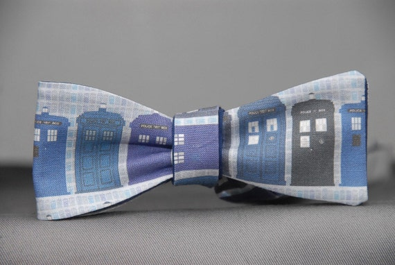 Dr. Who Inspired Tardis  Bow Tie