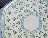 Vintage Royal Tara China Cake Plate Laura Pattern