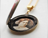 Photograph Picture Placement Inside Your Locket - Custom Locket Service