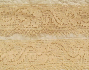 "Vintage Lace 1 yard x 3"" wide more available"