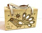 Enid Collins Bird In Hand Original Box Bag By Collins Of Texas