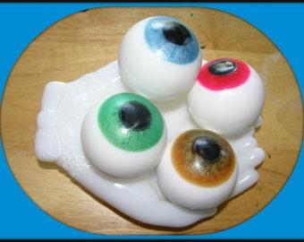EYEBALL EYE BaLL SoAP - HuGE - Ophthalmologist - Optical - Optometrist - Optician - Medical - Spooky - Oddities - Goth - Hand Made In USA