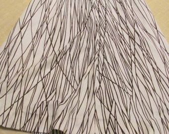 Geometric Pattern Lightweight Summer Skirt