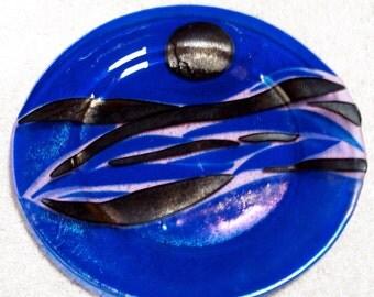 Cobalt Blue Dinner Plates for Stefanie