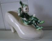 Vintage Pixie Elf  Figurine