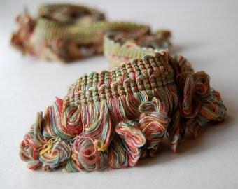 Vintage Upholstery Trim, Fringe, Crafting, Sewing