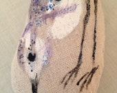 Painted Bird Lavender Sachet