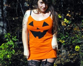 READY TO SHIP Jack O Lantern Pumpkin Halloween Costume Dress
