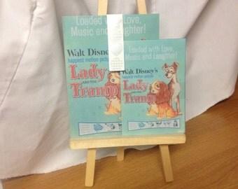 Disney Lady & The Tramp Scrapbook, Journaling, Stationary Paper