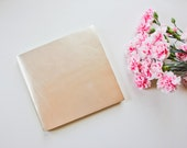 LUX Metallic Leather Guest Book