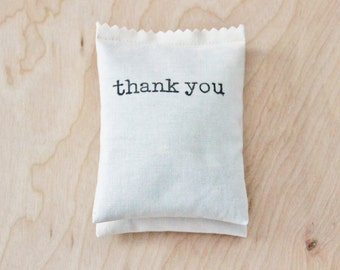 Thank You Gift Balsam Sachet Wedding Party Favours Bridal Shower Favors