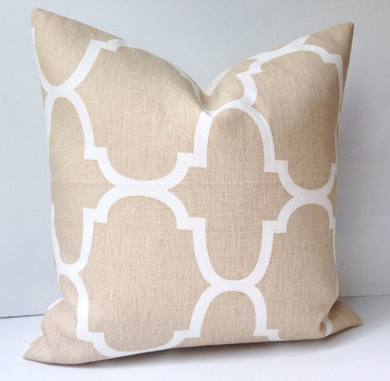 neutral decorative throw pillow cover couch cushion accent