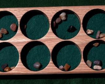 Mancala Board-Oak