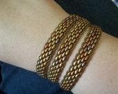 PDF Super Duo Peyote Stitch Wrap Bracelet (INSTANT DOWNLOAD)