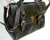 Black Leather Executive Bag