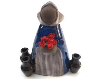60s Vintage Sweden Jie Verkstad Elsi Bourelius Figurine Vase